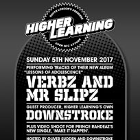 Higher Learning at The Birds Nest on Sunday 5th November 2017