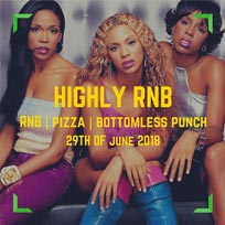Highly RnB at The Macbeth on Friday 29th June 2018