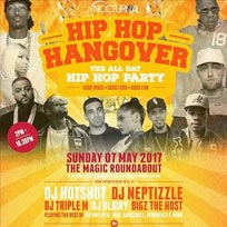 Hip Hop Hangover at The Magic Roundabout on Sunday 7th May 2017