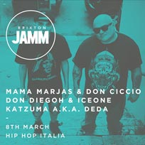Hip Hop Italia at Brixton Jamm on Wednesday 8th March 2017