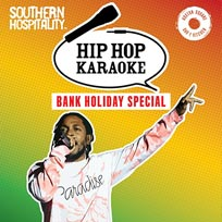 Hip Hop Karaoke at Hoxton Square Bar & Kitchen on Sunday 27th August 2017