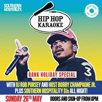 Hip Hop Karaoke at Hoxton Square Bar & Kitchen on Sunday 26th May 2019