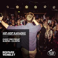 Hip Hop Karaoke at Boxpark Wembley on Friday 13th September 2019