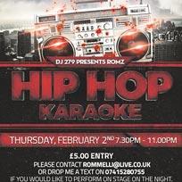 Hip Hop Karaoke at Market House on Thursday 2nd February 2017