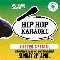 Hip Hop Karaoke at Hoxton Square Bar & Kitchen on Sunday 21st April 2019