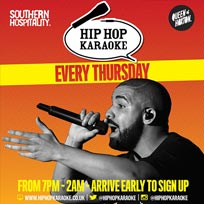 Hip Hop Karaoke at Queen of Hoxton on Thursday 25th October 2018