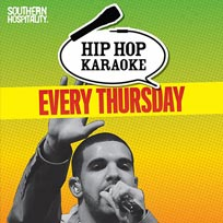 Hip Hop Karaoke at Queen of Hoxton on Thursday 23rd August 2018