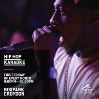 Hip Hop Karaoke at Boxpark Croydon on Friday 1st November 2019