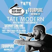 Hip Hop Karaoke at Tate Modern on Saturday 22nd June 2019
