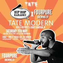Hip Hop Karaoke at Tate Modern on Saturday 11th May 2019