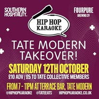 Hip Hop Karaoke at Southern Hospitality on Saturday 12th October 2019