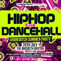 Hip-Hop Meets Dancehall at 333 Mother Bar on Saturday 20th July 2019