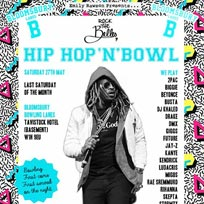 Hip Hop n Bowl at Bloomsbury Bowl on Saturday 27th May 2017