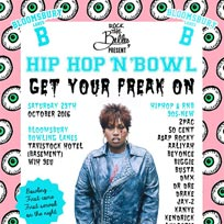 Hip Hop n Bowl at Bloomsbury Bowl on Saturday 29th October 2016