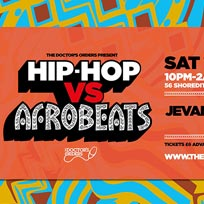Hip-Hop vs Afrobeats at Trapeze on Saturday 19th October 2019