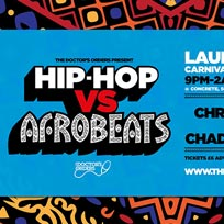Hip-Hop vs Afrobeats at Concrete on Friday 16th August 2019