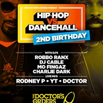 Hip Hop vs Dancehall 2nd Birthday at The Laundry Building on Friday 7th July 2017