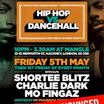 Hip Hop vs Dancehall at The Laundry Building on Friday 5th May 2017