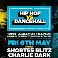 Hip Hop vs Dancehall at Trapeze on Friday 6th May 2016