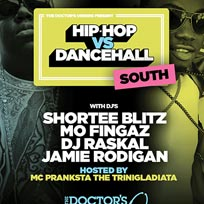 Hip Hop vs Dancehall South at Brixton Jamm on Friday 9th June 2017