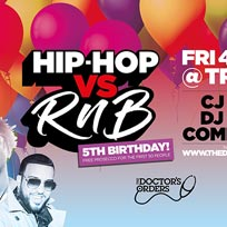Hip Hop vs RnB 5th Birthday! at Trapeze on Friday 4th October 2019
