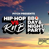 Hip-Hop vs RnB at PITCH Stratford on Saturday 27th July 2019