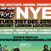 Hip Hop vs RnB NYE at Secret Location on Tuesday 31st December 2019