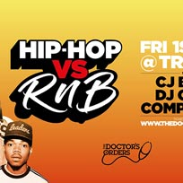 Hip Hop vs RnB at Trapeze on Friday 1st November 2019