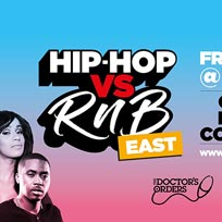 Hip Hop vs RnB at Trapeze on Friday 7th June 2019