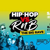 Hip-Hop vs RnB - The Big Rave! at Oval Space on Saturday 12th October 2019