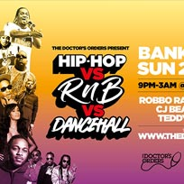 Hip-Hop vs RnB vs Dancehall at Trapeze on Sunday 21st April 2019
