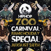 Hip Hop Zoo at Clapham Grand on Friday 24th August 2018