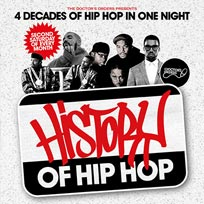 History of Hip Hop at Lockside Lounge on Saturday 13th May 2017