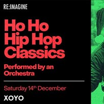 Ho Ho Hip Hop Classics at XOYO on Saturday 14th December 2019