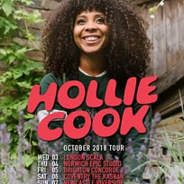 Hollie Cook at Scala on Wednesday 3rd October 2018