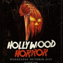 Hollywood Horror at Clapham Grand on Sunday 21st October 2018