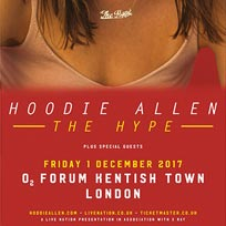 Hoodie Allen at The Forum on Friday 1st December 2017