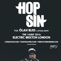 Hopsin at Electric Brixton on Thursday 14th July 2016