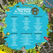Hospitality in the Park at Finsbury Park on Saturday 21st September 2019