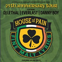 House of Pain at The Forum on Saturday 17th June 2017
