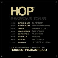 House of Pharaohs at The Forum on Friday 11th October 2019