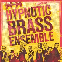 Hypnotic Brass Ensemble at Hackney Arts Centre on Saturday 13th October 2018