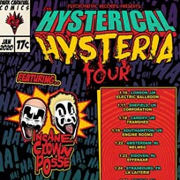 The Hysterical Hysteria Tour at Electric Ballroom on Thursday 16th January 2020