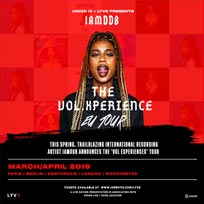Iamddb at The Roundhouse on Thursday 4th April 2019