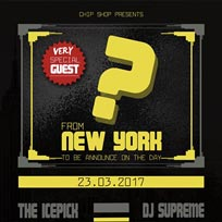 DJ Supreme, The Icepick & Very Special Guest. at Chip Shop BXTN on Thursday 23rd March 2017