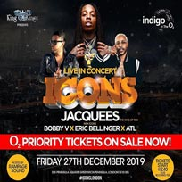 Jacquees at Indigo2 on Friday 27th December 2019