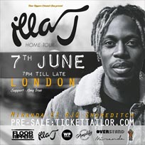 Illa J at Ace Hotel on Thursday 7th June 2018