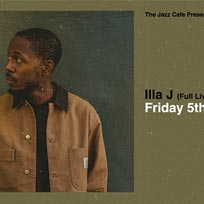 Illa J at Jazz Cafe on Friday 5th April 2019