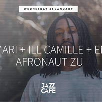 Iman Omari at Jazz Cafe on Wednesday 31st January 2018