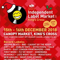 Independent Label Market at Canopy Market on Sunday 16th December 2018